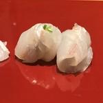 はつね寿司 - ヒラメの肝巻き