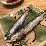 はつね寿司 - 琵琶湖の稚鮎の一夜干し
