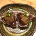 はつね寿司 - 鰹の藁焼き