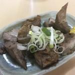 長八 - 料理写真:角切り焼豚