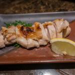へぎそば匠 - 熟成地鶏の塩焼き