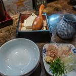 へぎそば匠 - ざる豆腐