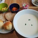 門前喫茶 Norah - スープセット