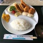 88035198 - ミックスフライ定食