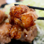 伝説のすた丼屋 - 鬼盛りすたみな唐揚げライス(780円)