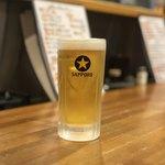 焼き鳥・逸品料理 猩々 - 生ビール