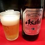 88036732 - グラスもビールもキンキンに冷えてる