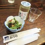古民家麺処 かつら - 「会津ほまれ」