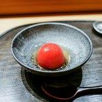 肉割烹 上 - ☆高知県トマト