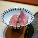 88039038 - ☆ハラミ、ランプ、サーロインのステーキ