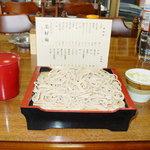 美好庵 - 料理写真:大盛り蕎麦