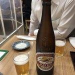十三屋 - 大ビンビール♪