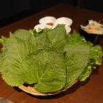 豚美 - ☆包み野菜(*^_^*)☆