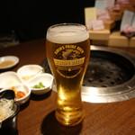 豚美 - ☆生ビールで乾杯です☆
