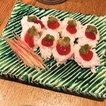 食彩 遊真 - 料理写真:鱧の湯引き