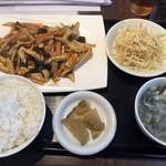 松戸香房 - ユーシャンロース定食