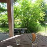 コウボパン小さじいち - ガーデン席