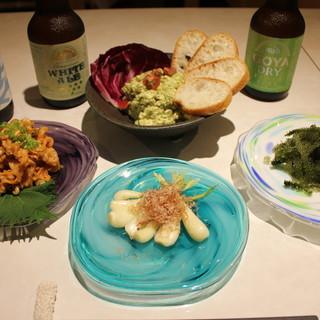 アカマタでしか食べられない沖縄とイタリアンの創作料理
