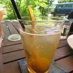 コウボパン小さじいち - 梅の甘煮ソーダ