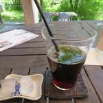 コウボパン小さじいち - 松浦珈琲のフレンチ・ブレンドのアイスコーヒー