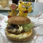 バーガーシティ - 料理写真:ラー油バーガー 単品だと320円(税込)
