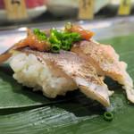 魚がし日本一 - 炙りはも400円