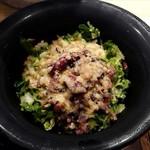 お米料理 リゾット☆スター - 16種類のグレインサラダとごま塩麹ドレッシング♪