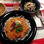 お米料理 リゾット☆スター - スター☆セット(サラダスープ付き)