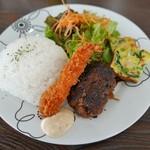 カフェ ココモ - 料理写真:ワンプレートランチ(1200円)