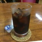 洋食 デリシュ - アイスコーヒー付きです。
