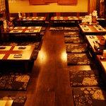 東北居酒屋 なまはげ - 秋田の古民家を移築したいんた座敷は、最大50名までOK!!