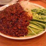 華龍飯店 神保町 - ジャージャー麺 大盛り
