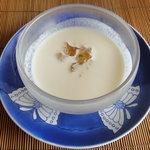 8806777 - 2011 こちらも定番の冷製スープ 妻の大好物です^^