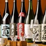 吟醸料理・そば ふくろう - 各種日本酒