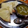RAJ - 料理写真:チーズナンセット