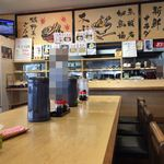 魚食堂たわら - 店内