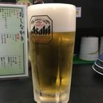 もり一 - 「生ビール」500円