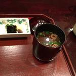 和 あすか - 汁物/赤だし 香の物