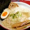 Enishi - 料理写真:素ラーメンに、おつまみ投入