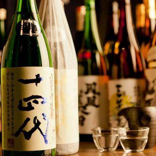 ●『新宿で一番日本酒が豊富なお店』を目指して●