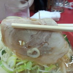 らーめん弁慶 - チャーシュー