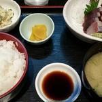かざん - お造り定食750円