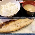 ちばチャン - 焼魚定食700円