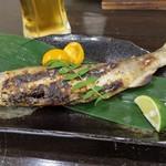 鶏と鰻 四万十家 - 鮎の塩焼き