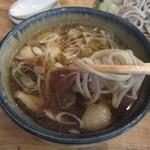 山横沢 - 蕎麦を浸して
