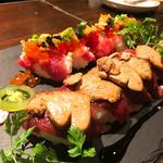 Cerdo y pato - インスタ映えの鴨寿司♡