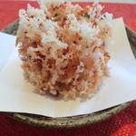 蕎麦流々 千角 - 【桜海老のかき揚げ】