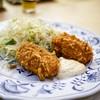 はと屋 - 料理写真:■蟹クリームコロッケ定食