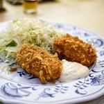 はと屋 - ■蟹クリームコロッケ定食