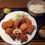 仙水 - 料理写真:、あんぷく定食